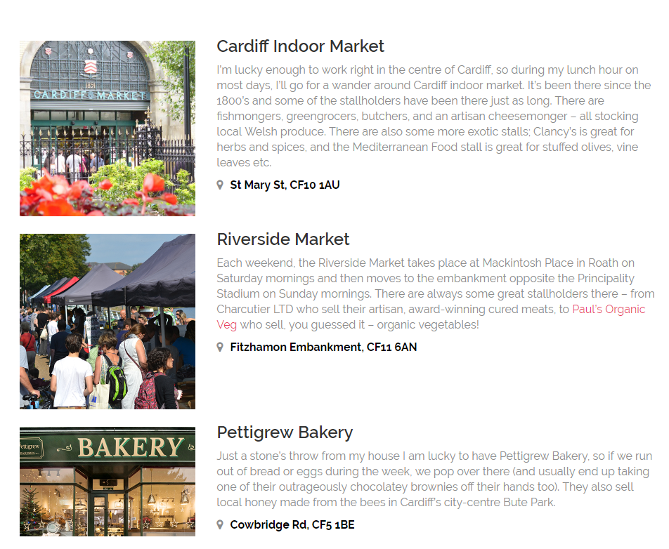 Cardiff foodie guide