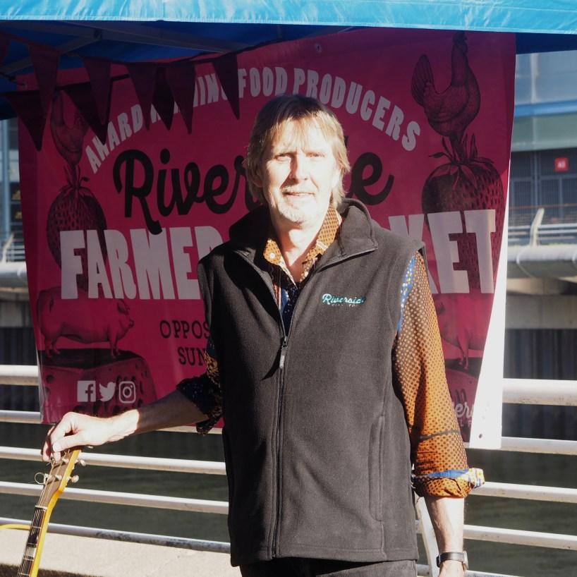 Riverside Founder Steve Garrett