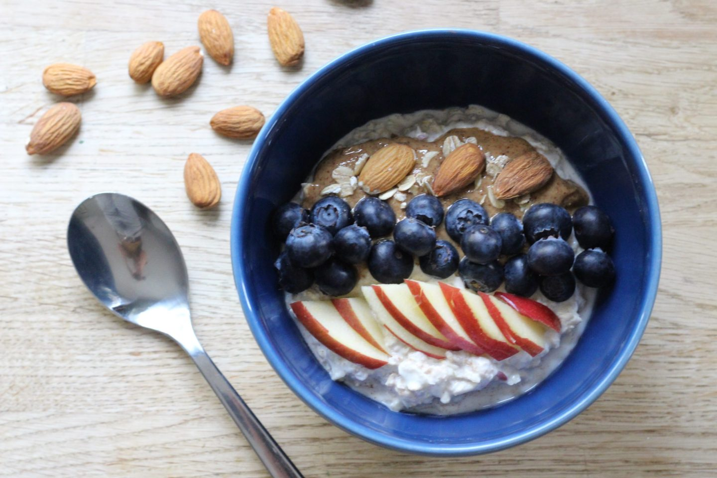 Recipe: Organic Apple & Almond Butter Bircher Muesli