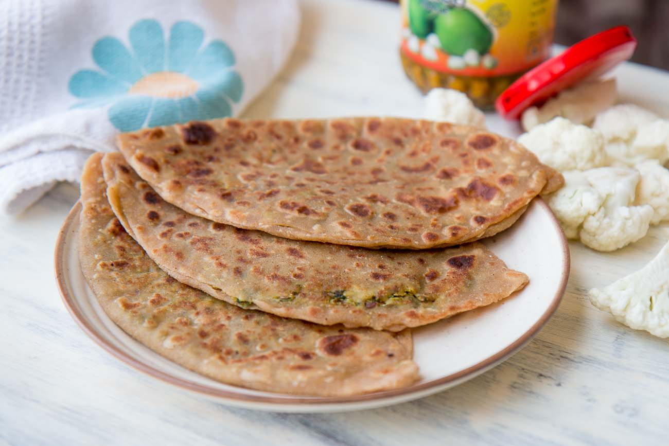 Cauliflower Paratha Recipe
