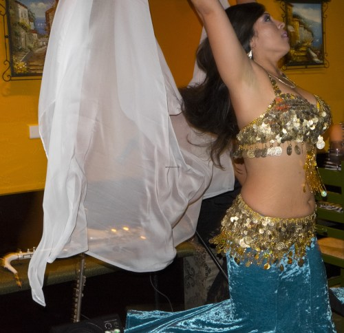 Belly dancing!