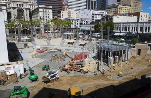 Act II: Horton Plaza fountain and park