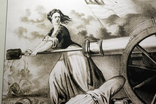 Molly Pitcher Heroine of Monmouth 1876