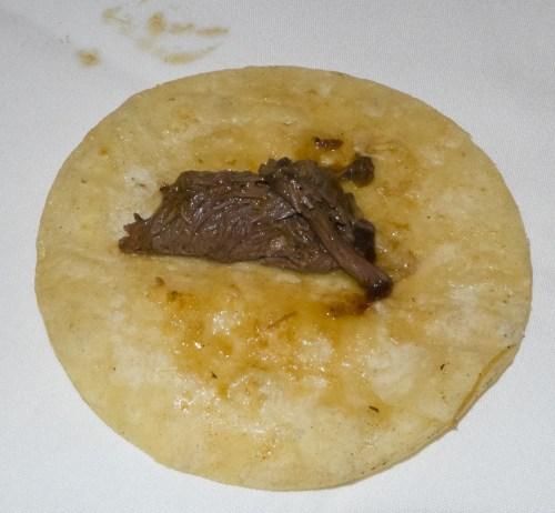Beef short rib taco.