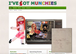 I've Got Munchies Website Design
