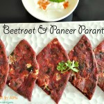 Beetroot & Paneer Parantha
