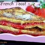 Jam french toast