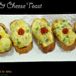 Corn & cheese toast