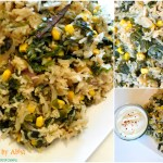 Spinach & Corn Pulao