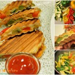Zucchini & Bell Pepper Sandwich