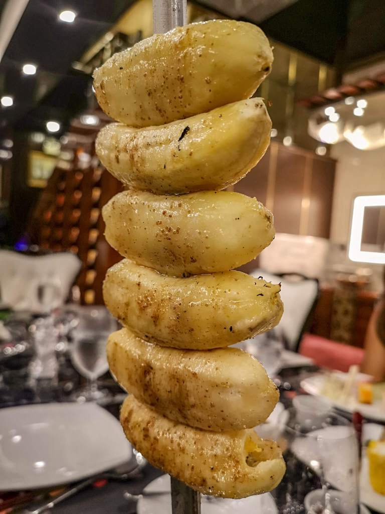 Chateaubriand Buffet Caramelized Banana