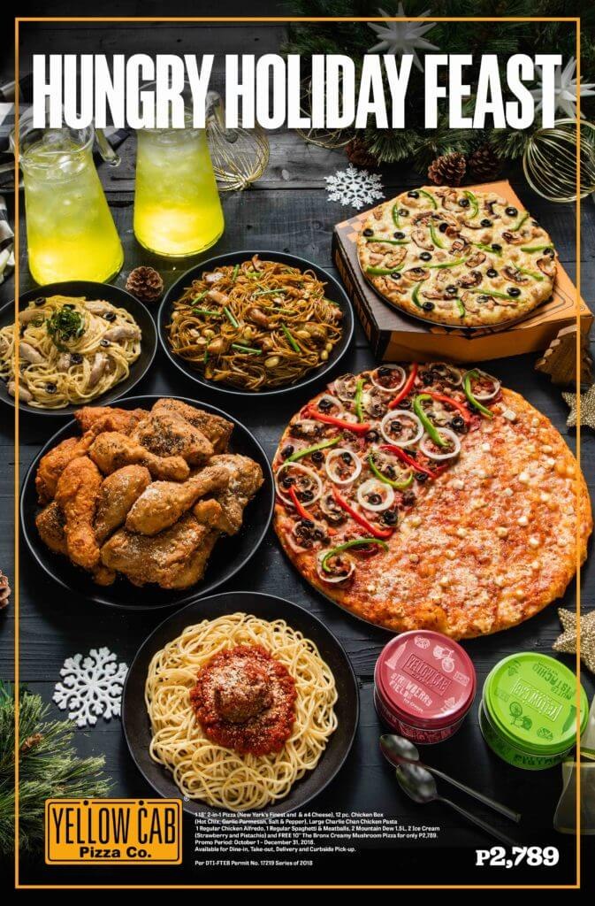 Yellow Cab Hungry Holiday Feast - Poster
