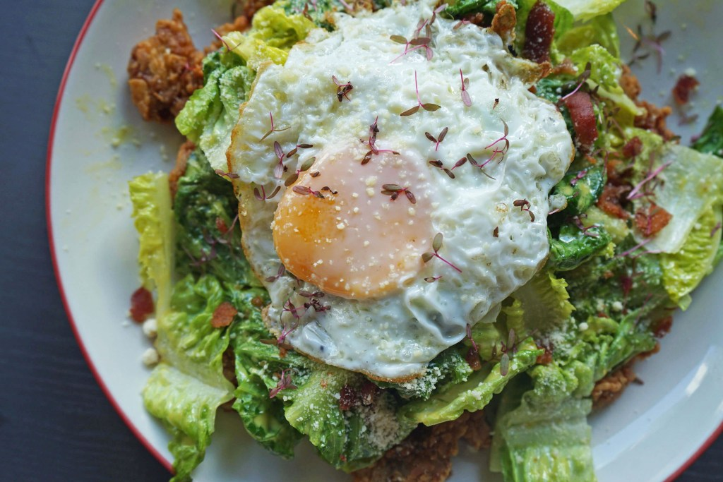 Mimi & Bros Fried Chicken Caesar Salad