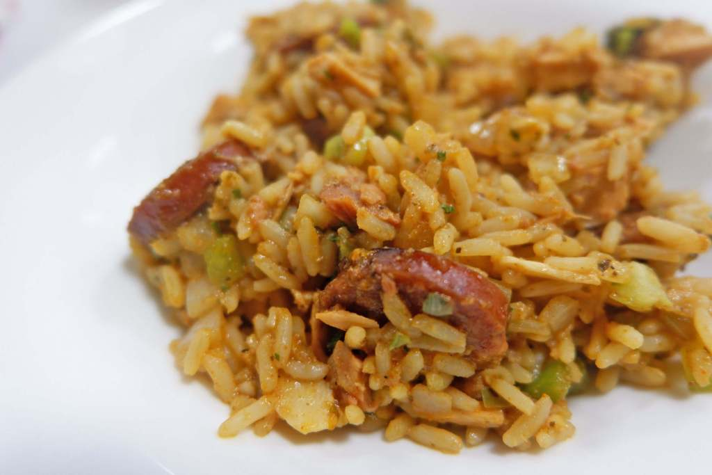 New Orleans School of Cooking Jambalaya