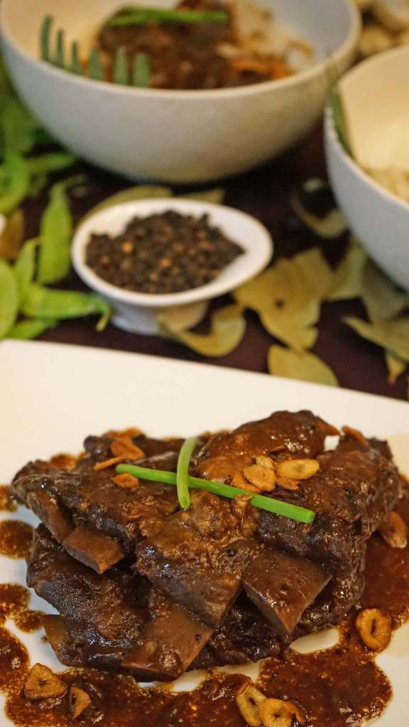 Max's Adobo Ribs and Beef Salpicao
