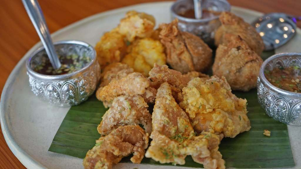 Muang Thai Restaurant Quezon City - Fried Appetizer Sampler