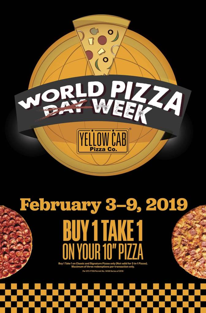 Yellow Cab World Pizza Week