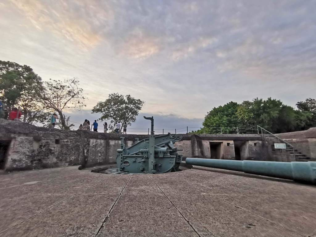 Battery Grubbs at Corregidor Island