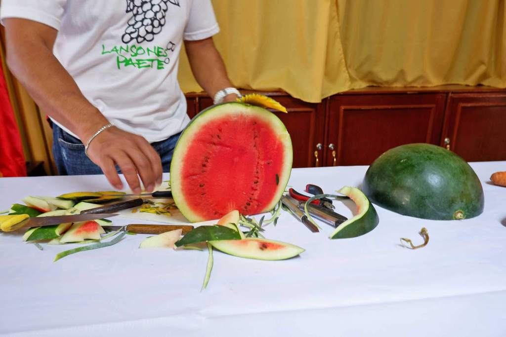 Calabarzon Culinary Tour - Fruit Carving Paete Laguna
