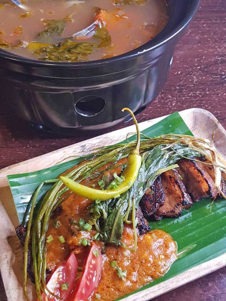 Tiyo Craft Kitchen and Bar- Inihaw na Liempo Sinigang