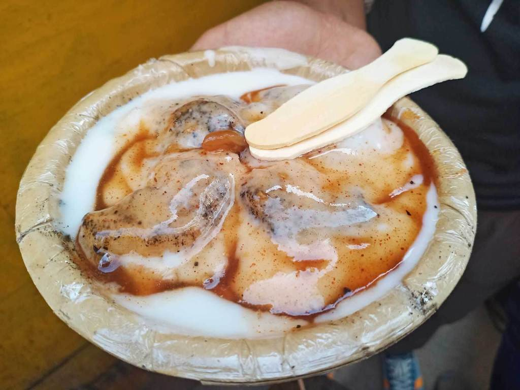 A Chef's Tour Delhi Food Walk - Old Delhi Food Tour - Dahi Bhalla