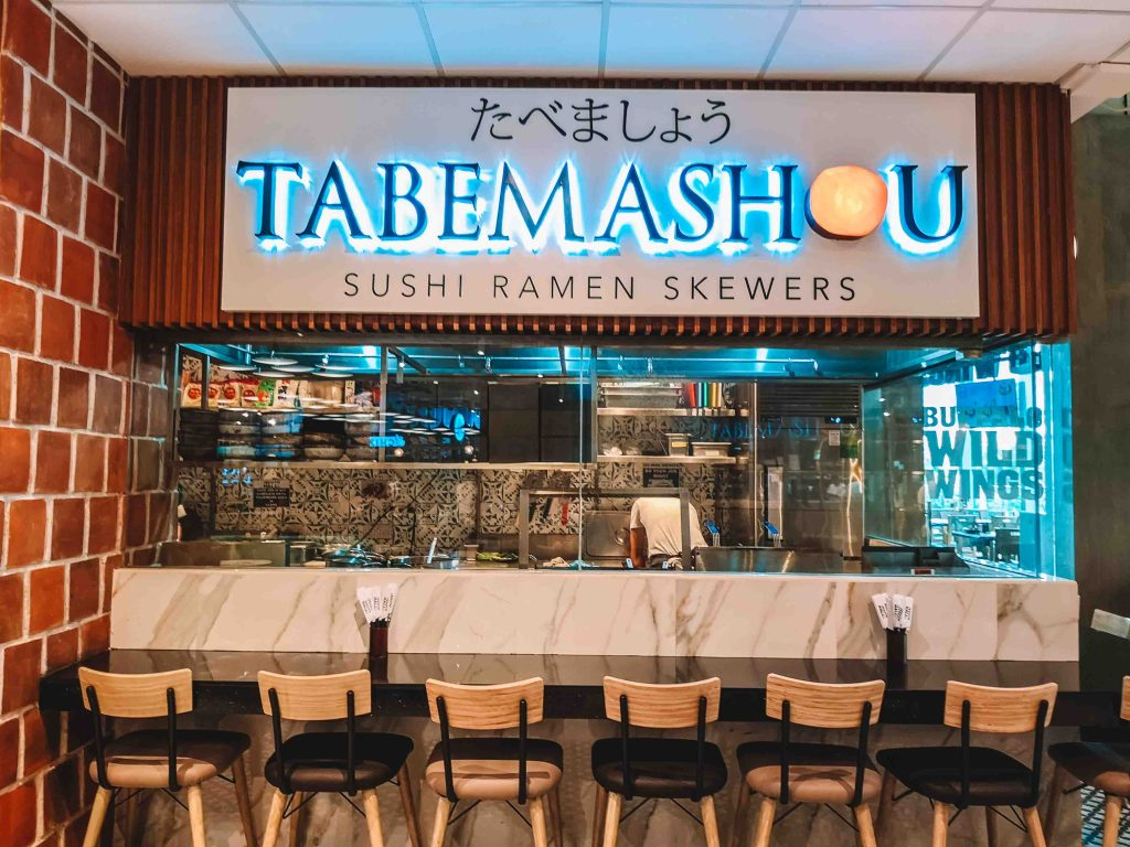 Tabemashou My South Hall