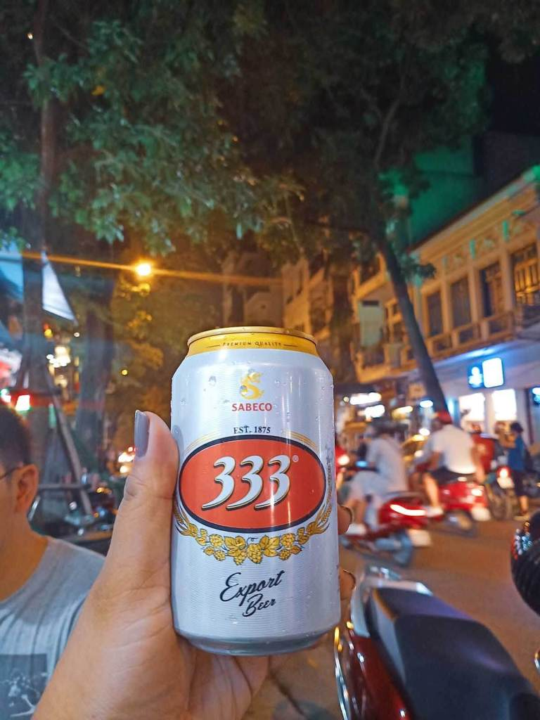 Hanoi Food Tour Old Quarter - Local Beer