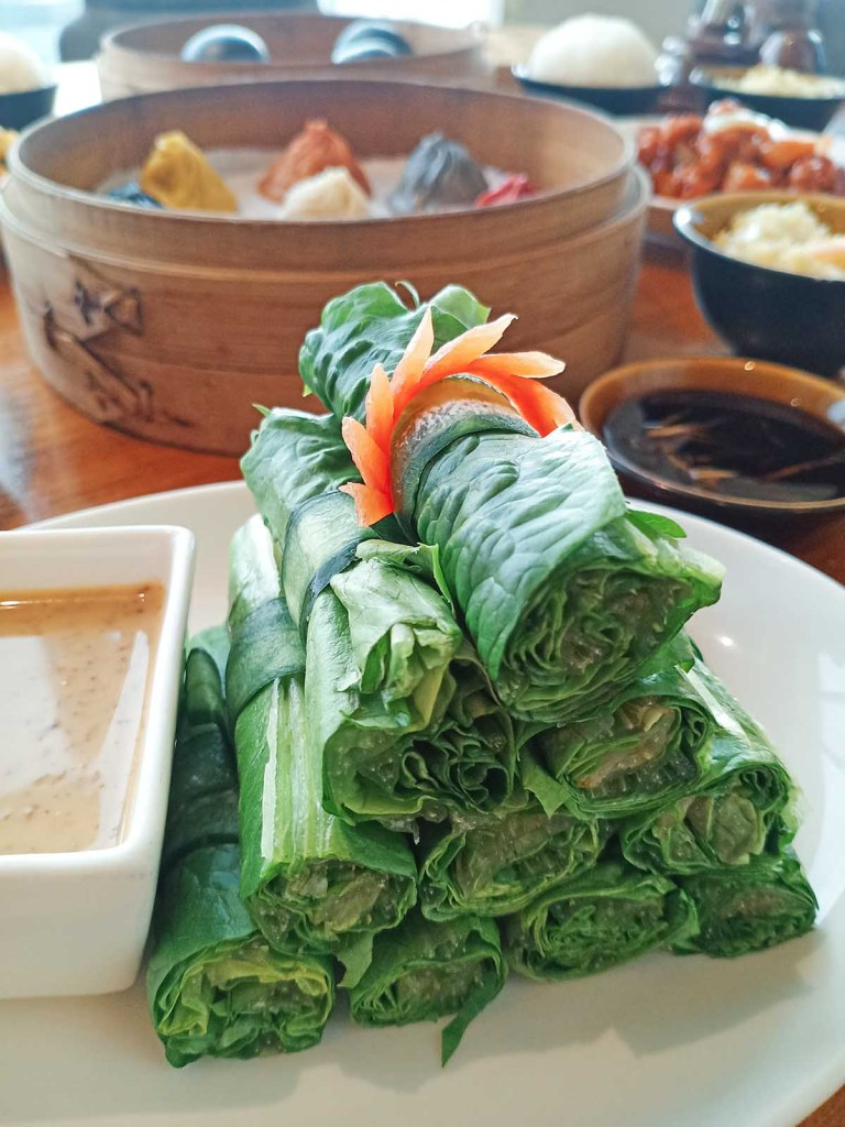 Paradise Dynasty S'Maison SM MOA Branch - Lettuce Roll with Homemade Sesame Dip