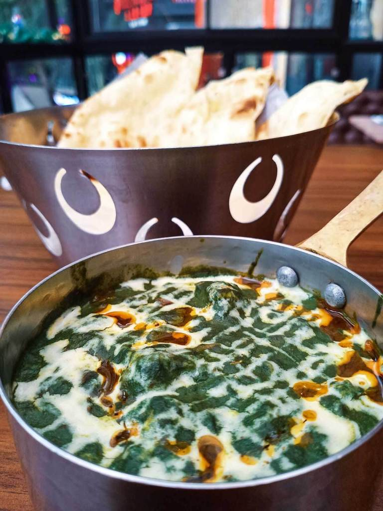 Royal Indian Curry House Eastwood - Palak Paneer