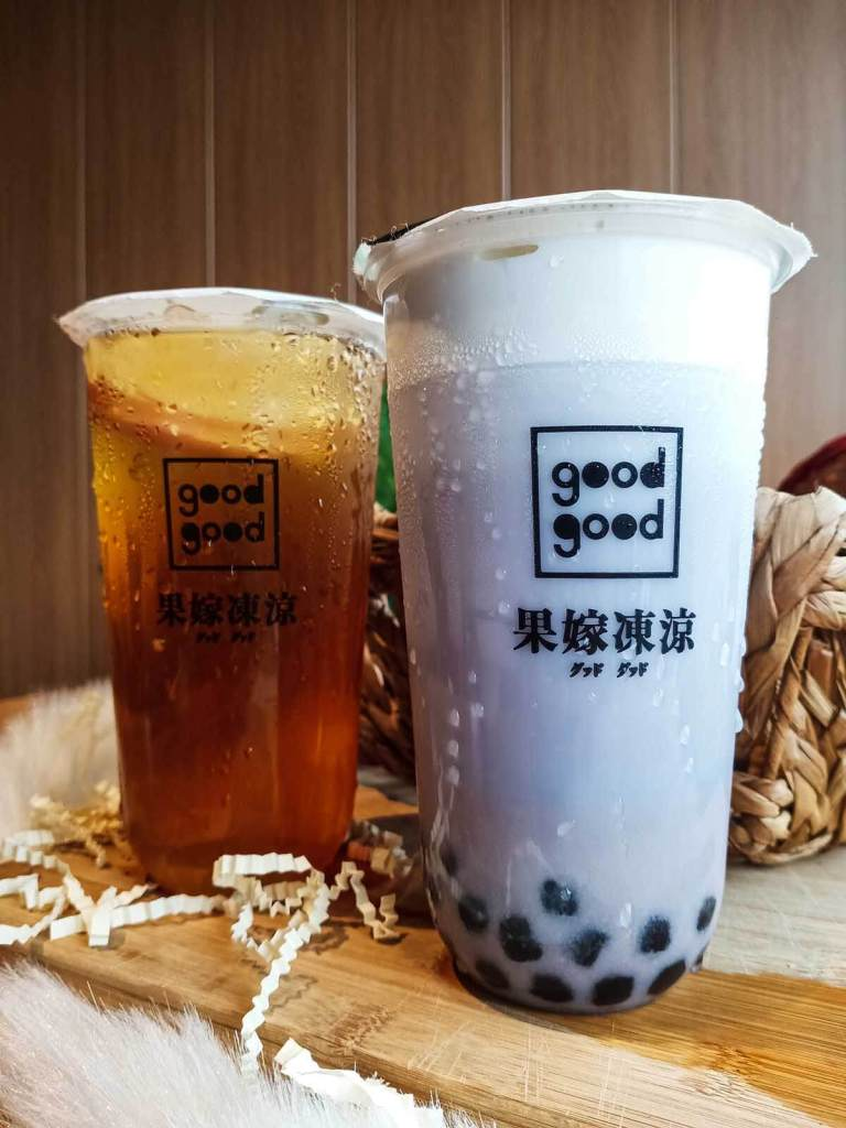 Good Good Milk Tea Philippines - Banawe QC - Taro