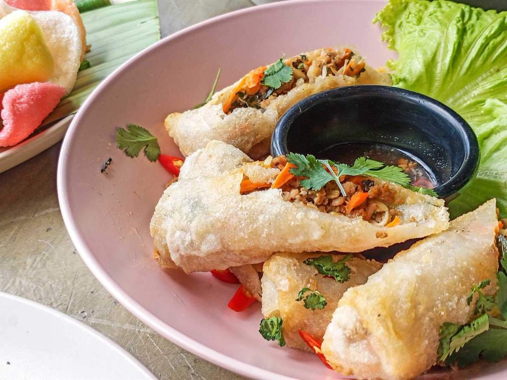 Boa Kitchen and Socials - Fried Spring Rolls