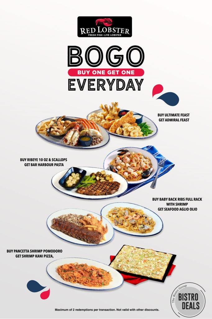 The Bistro Group Buy One Get One BOGO Deal Promos