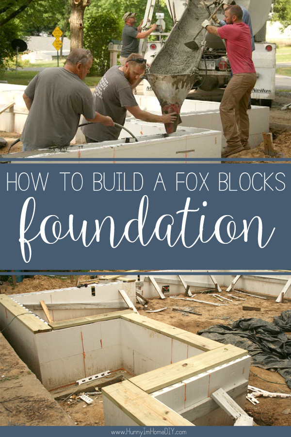How to construct a fox blocks foundation hunny im home diy learn how to build a fox blocks foundation at hunny im home diy icf foundation solutioingenieria Images