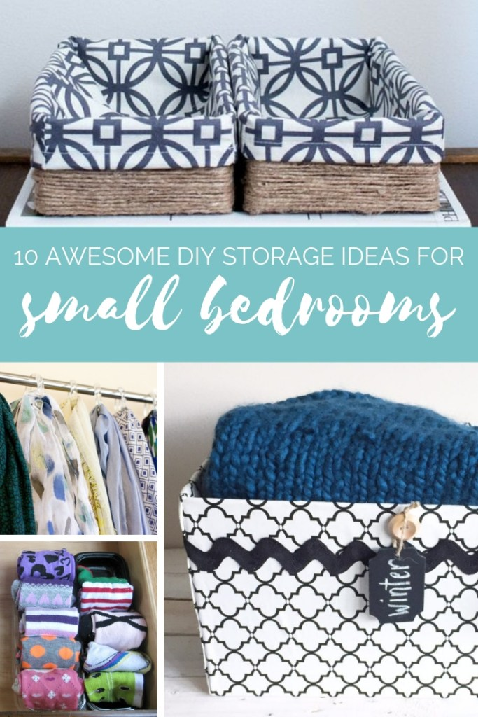 Pleasing 10 Awesome Diy Storage Ideas For Small Bedrooms Hunny Im Home Download Free Architecture Designs Remcamadebymaigaardcom