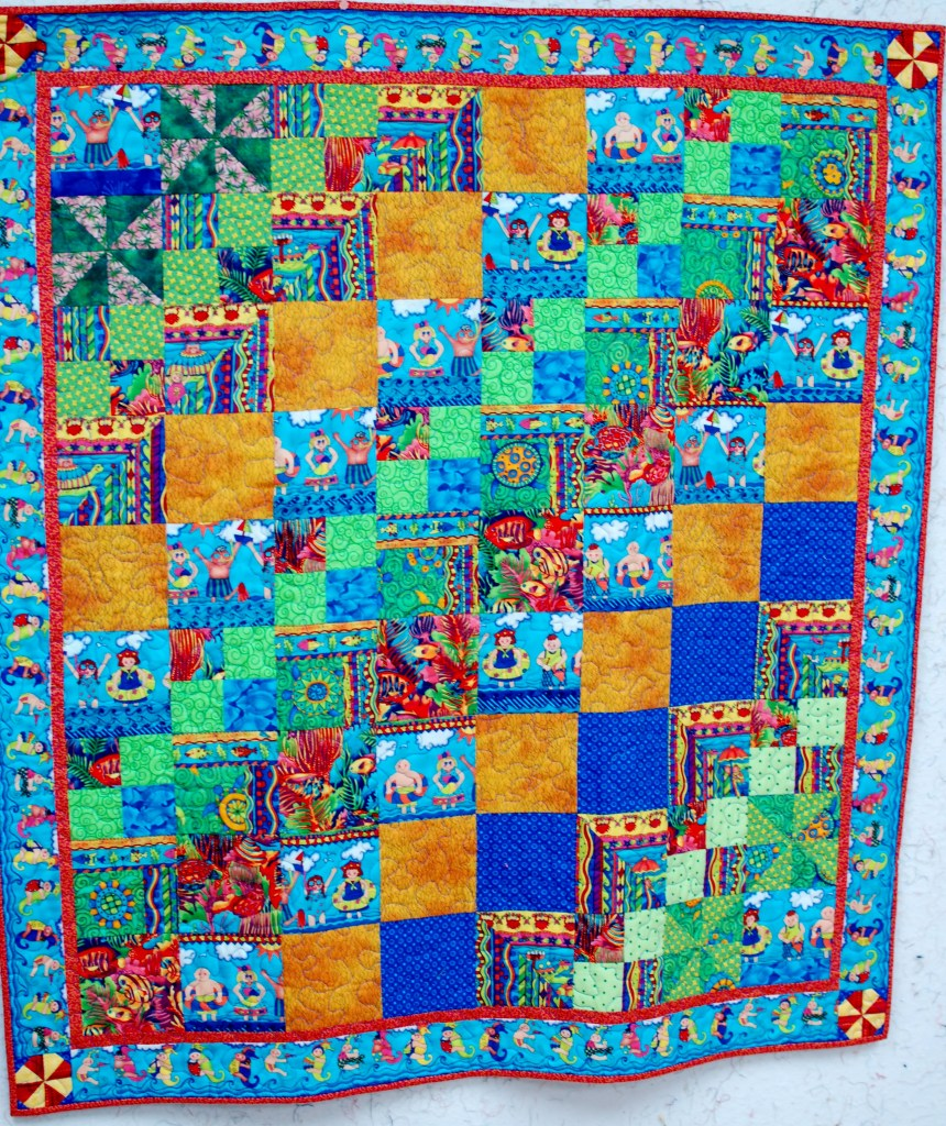 Quilt DIY no sew banner women and their gift tips