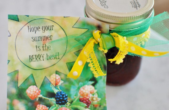 The Berry Best with a berry beautiful free printable