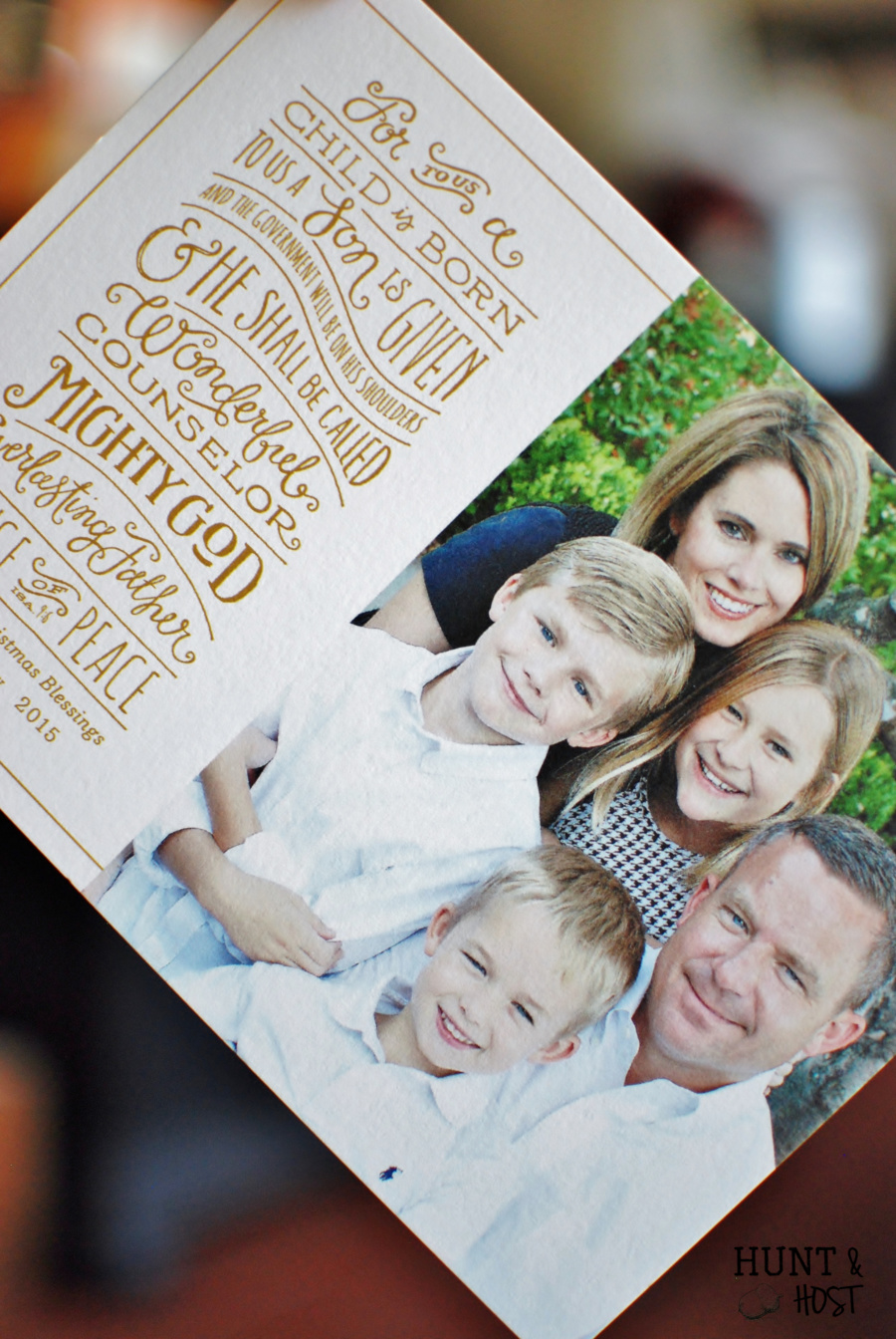 10 Reasons to Mail Christmas Cards - Hunt and Host