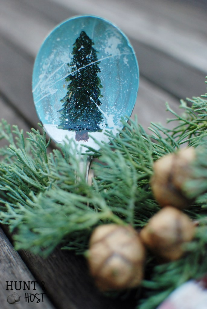 spoon santa spoon tree spoon christmas ornament huntandhost.net