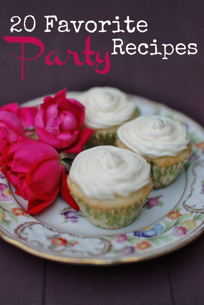 20 favorite party recipes including coconut creme cupcakes huntandhost.net