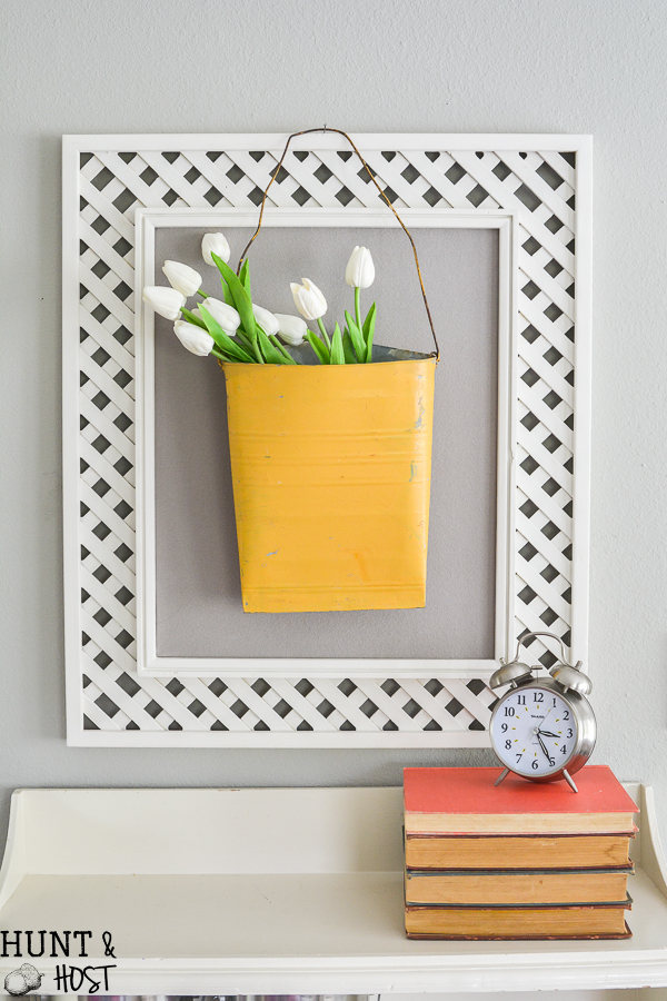 Tips For DIY Art Using Old Frames - Hunt and Host