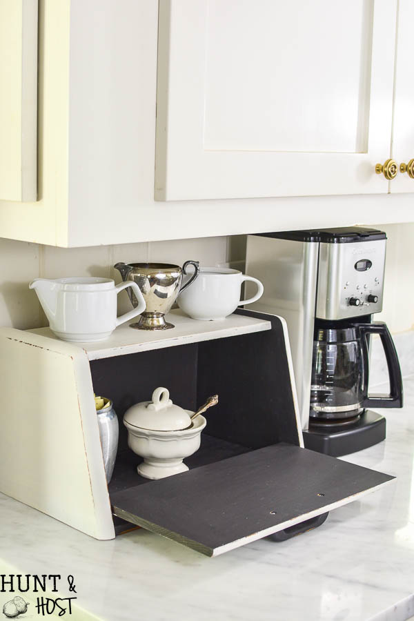 This Bread Box Makeover Is Perfect For Hiding Kitchen Clutter, Kitchen  Storage Ideas, A