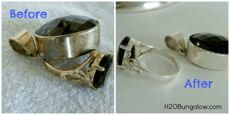 Six ways to clean silver and remove tarnish. Company is coming, get that silver polished! Here are easy tips and tricks to clean up that tarnished silver!