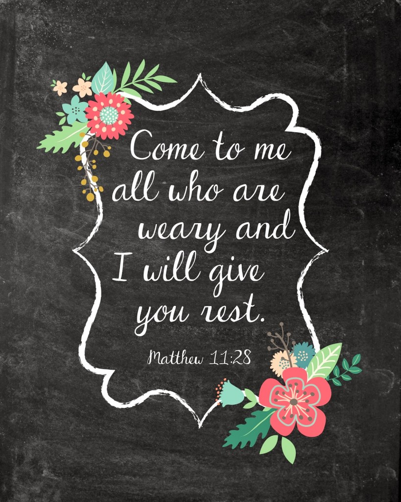Gorgeous image in printable scripture art