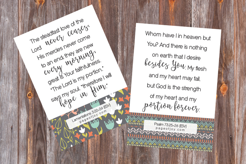 These free printable scripture art pieces will help you decorate with bible verses quick and easy, they also make the perfect affordable and thoughtful gift!