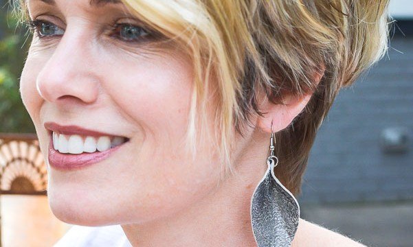 Purge to Project: Make Your Own Leather Earrings