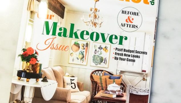 Flea Market Decor Magazine Feature