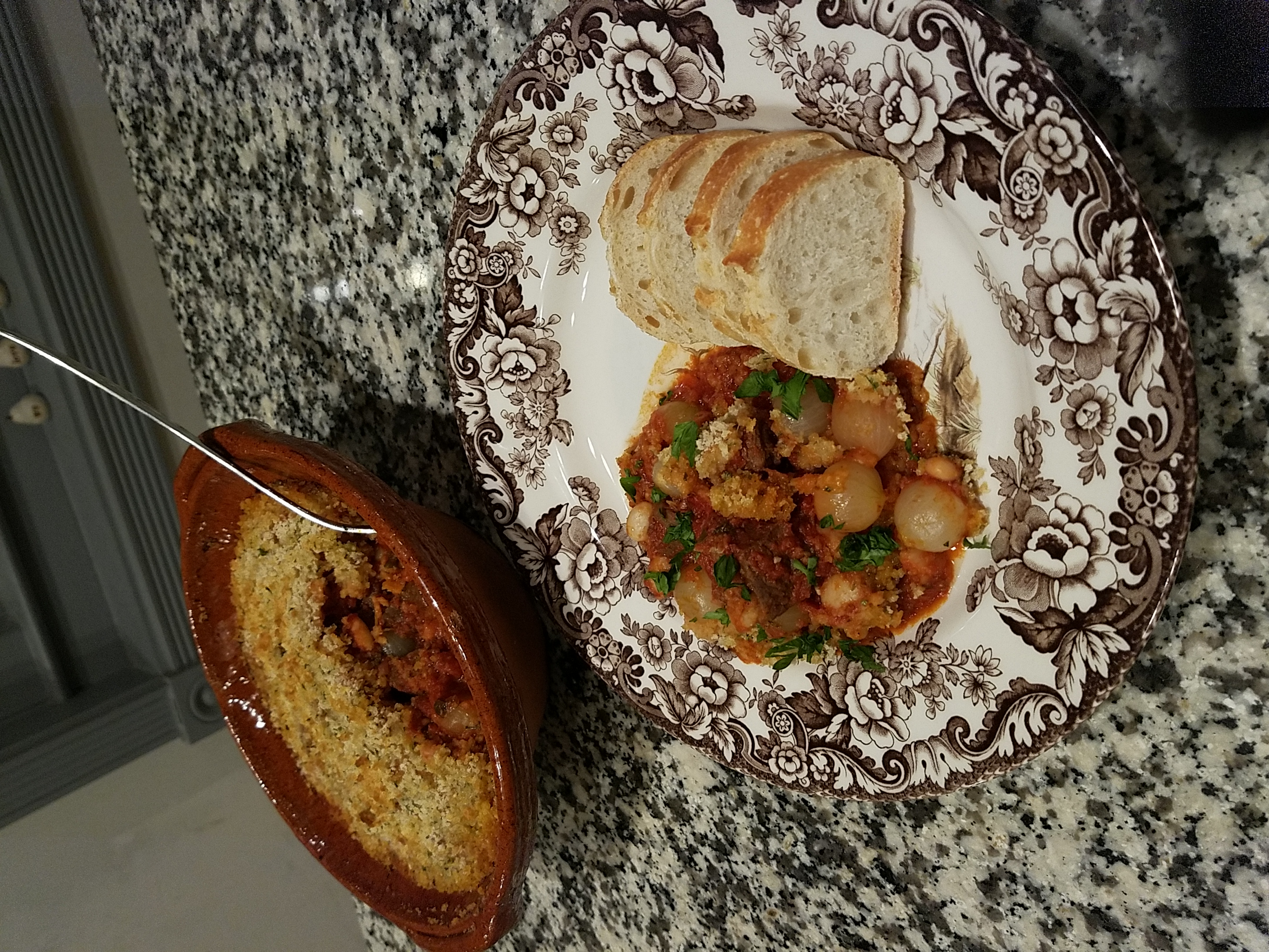 Cassoulet and Plate