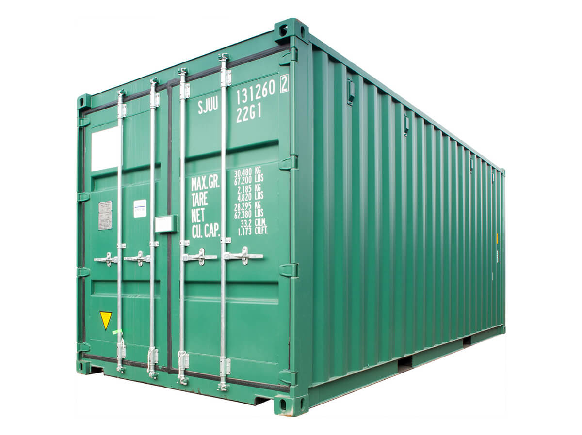 New containers from Hunter Containers