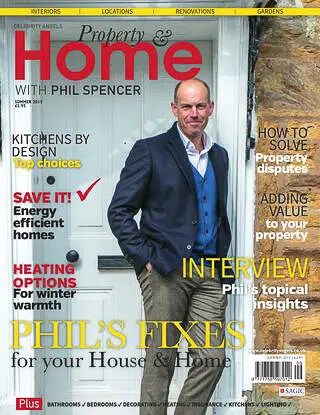 Interview with Phil Spencer for Property & Home Magazine