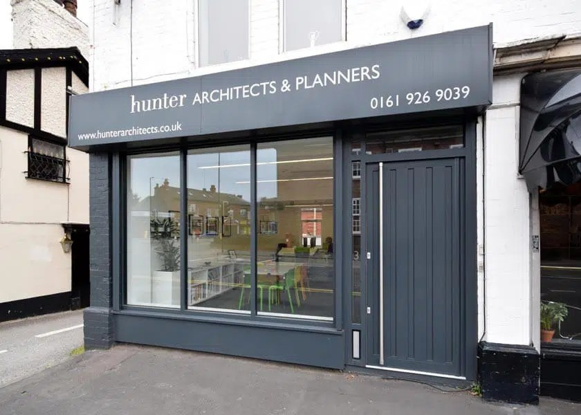 Hunter Architects Altrincham Trafford Cheshire - RIBA & RTPI Planners